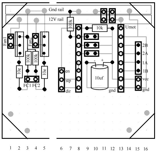 Reprap X2v3 Electronics
